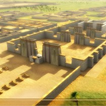 Tell el-Amarna mapped through satellite imagery system