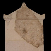 A stone stele from the temple of Apollo the Savior