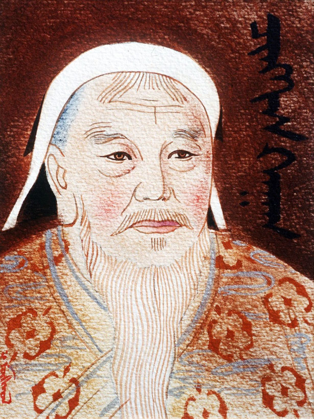 Genghis Khan was the ancestor of millions of modern men. Photo Credit: Rex / Daily Mirror.