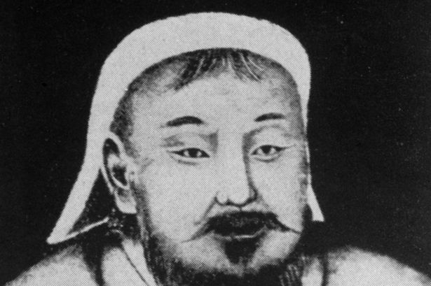 A portrait of Genghis Khan. Photo credit: Getty.