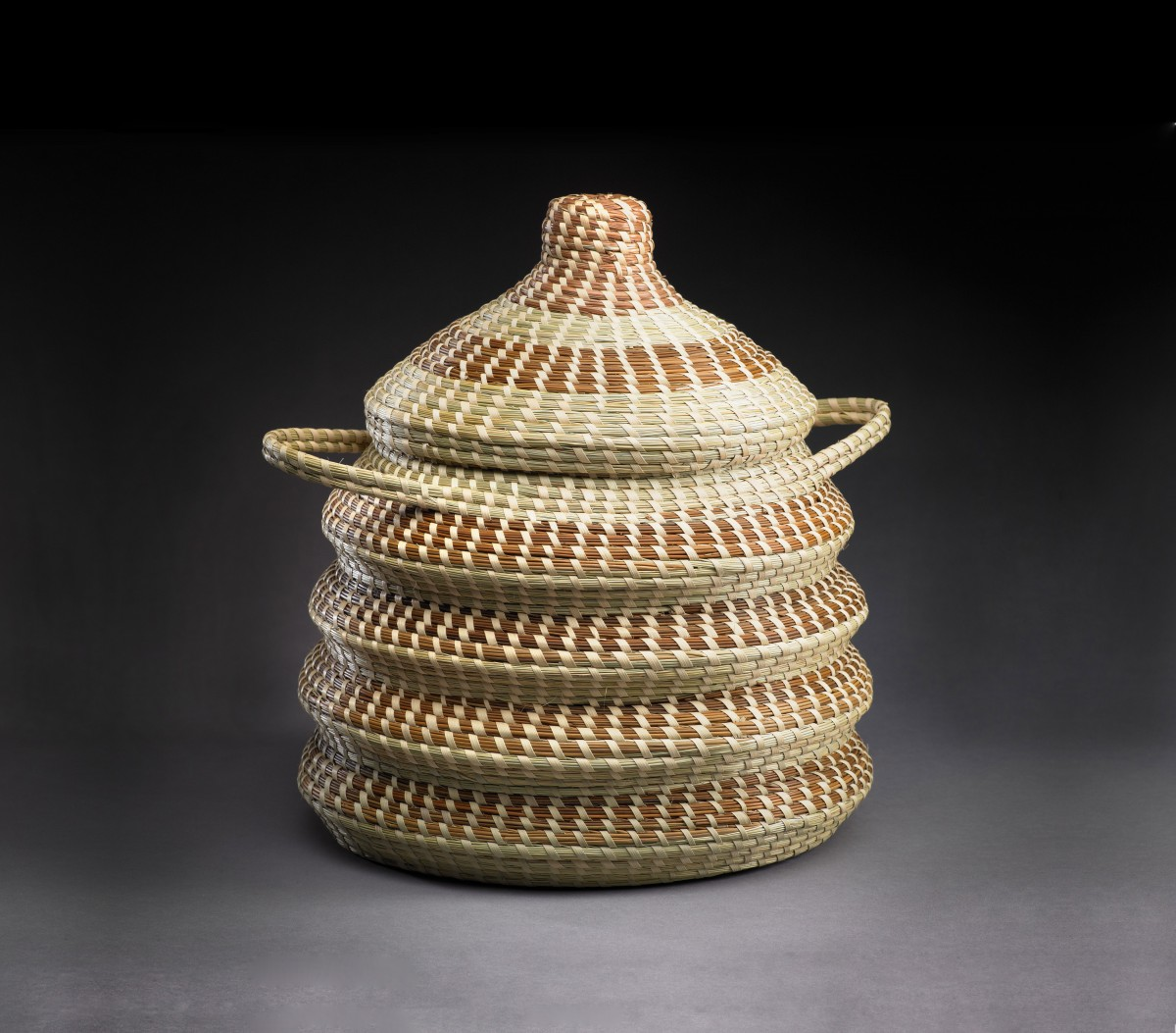 Elizabeth F. Kinlaw, American, In and out basket, 2012, Samuel P Harn Museum of Art Collection.