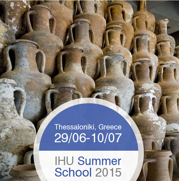 Poster of the Summer School (detail).