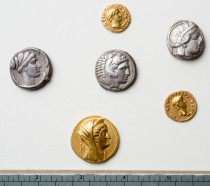 Ancient coins rediscovered in University Library