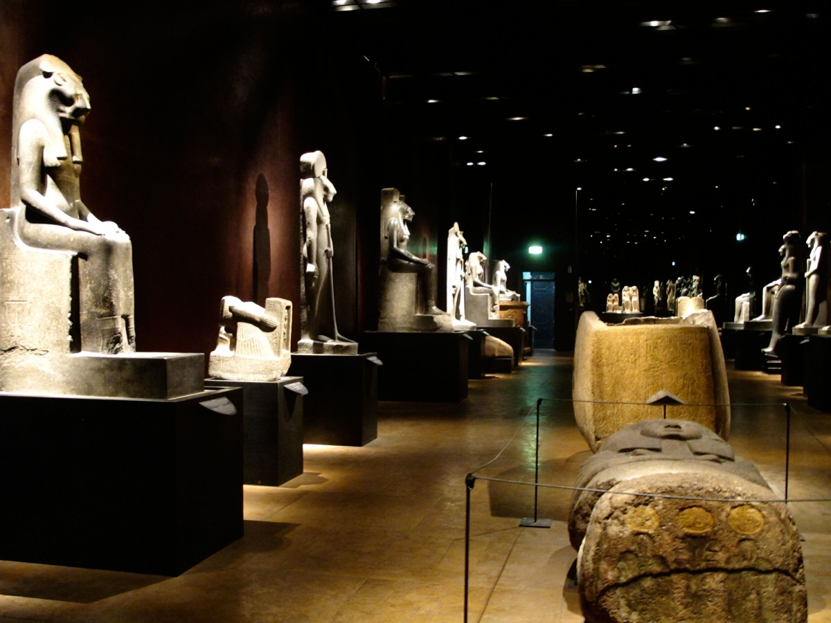 The renovated Museo Egizio has one of the world's largest collections of Egyptian antiquities. Photo Credit: Museo Egizio.