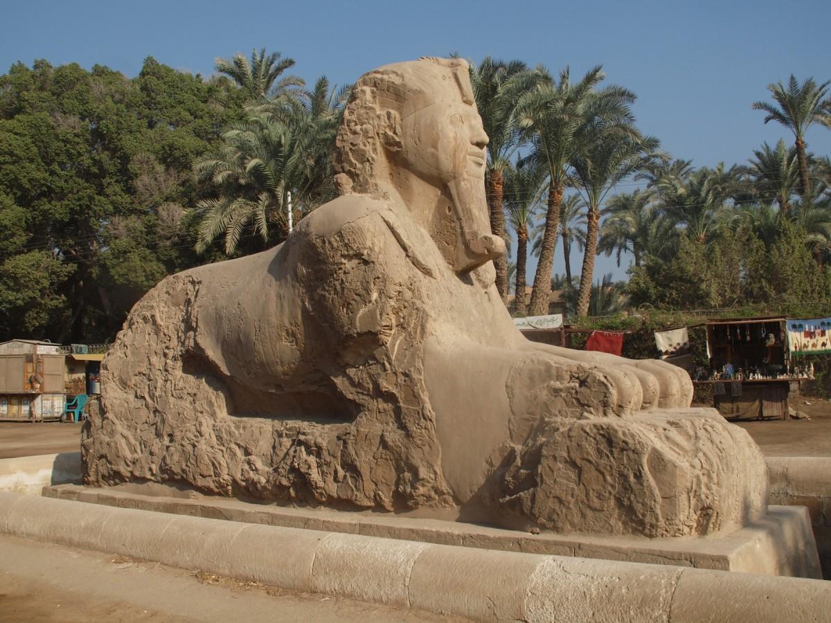 The Alabaster Sphinx in Memphis.