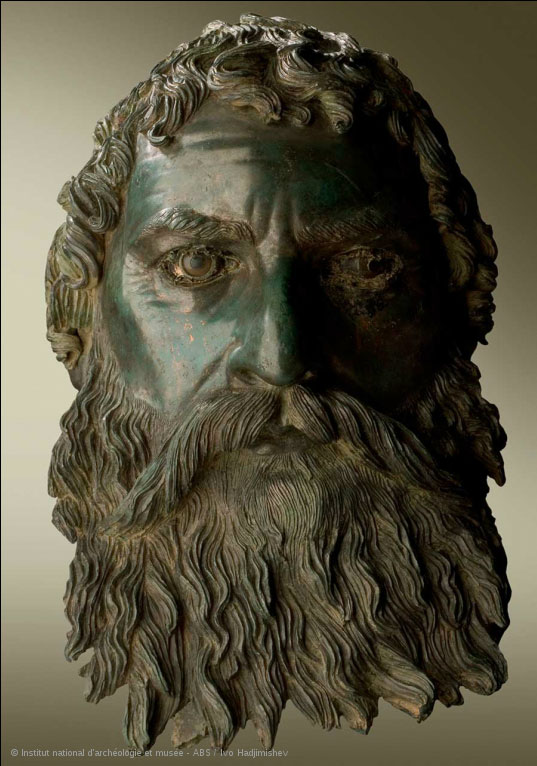 Bronze head of Seuthes III.