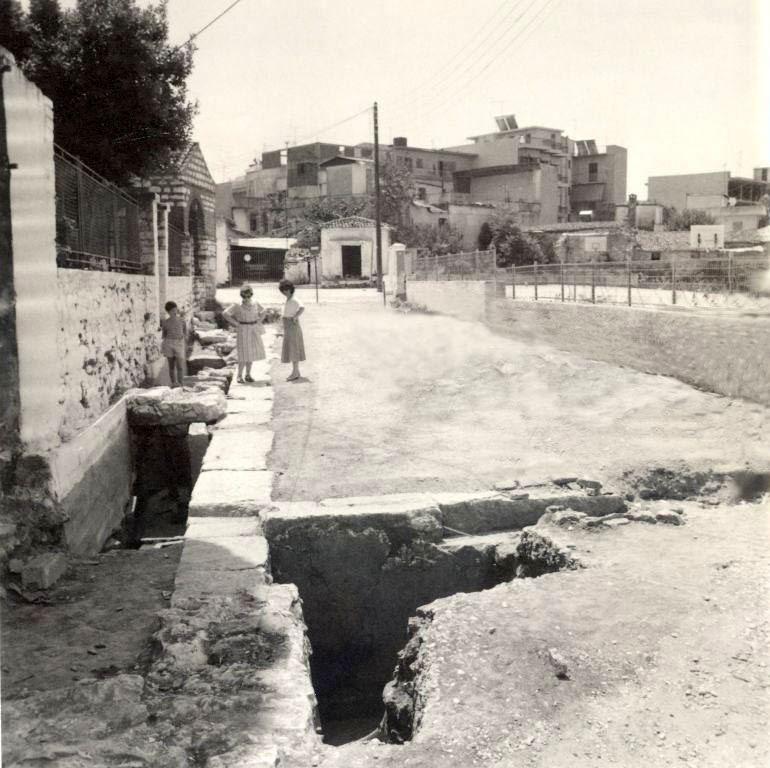 Excavation at the Prytaneion . (Photo: Ephorate of Antiquities of Arta)
