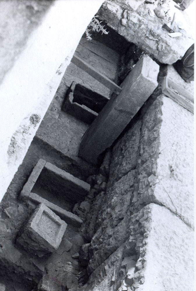 Vies of the excavationS at the Prytaneion. (Photo: Ephorate of Antiquities of Arta)