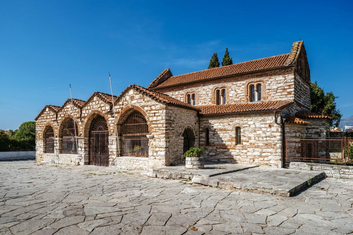 The church of St. Theodora. (Photo: Ephorate of Antiquities of Arta)