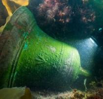 HMS Erebus artefacts retrieved
