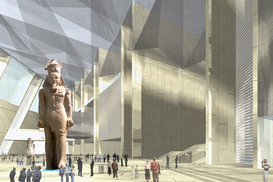 The Grand Egyptian Museum will be
