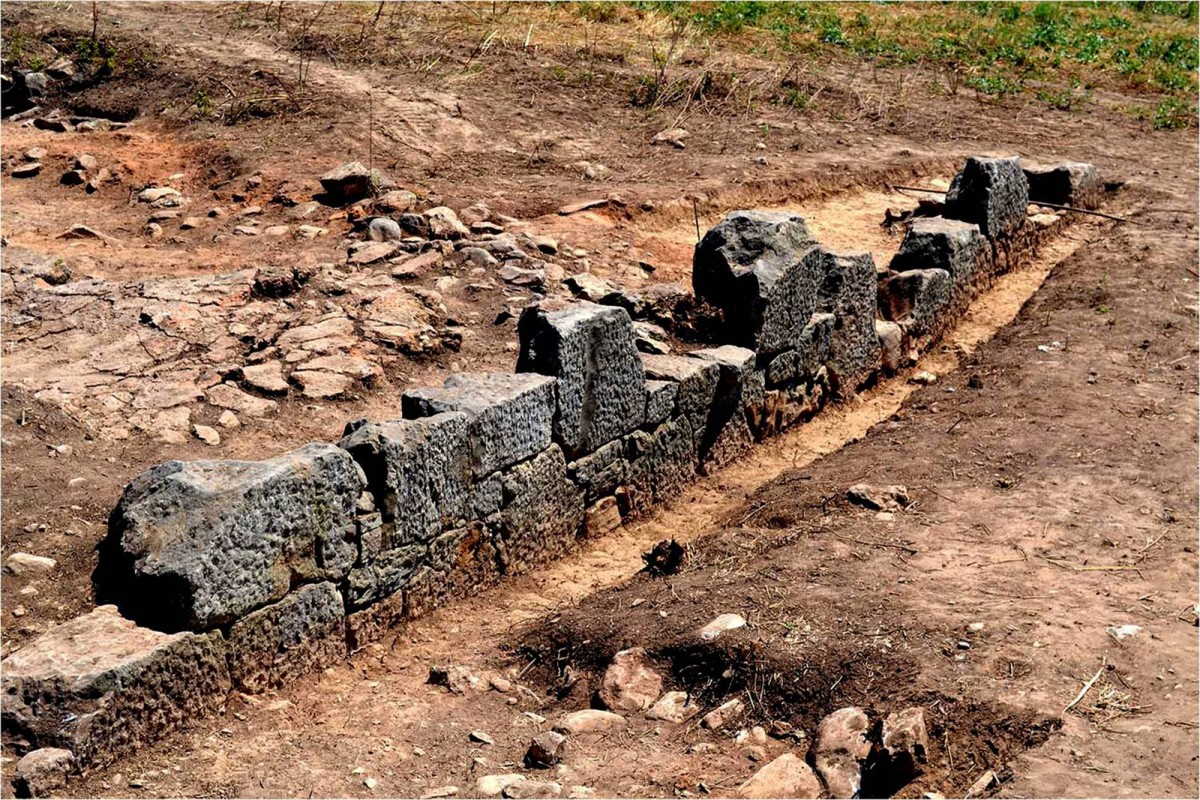 Plassi, Marathon: The sanctuary precinct of the Archaic period (credit: National and Kapodistrian University of Athens)