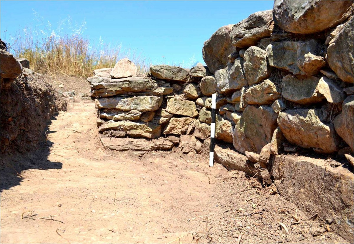 Plassi, Marathon: Fortification wall of the Prehistoric era (credit: National and Kapodistrian University of Athens)