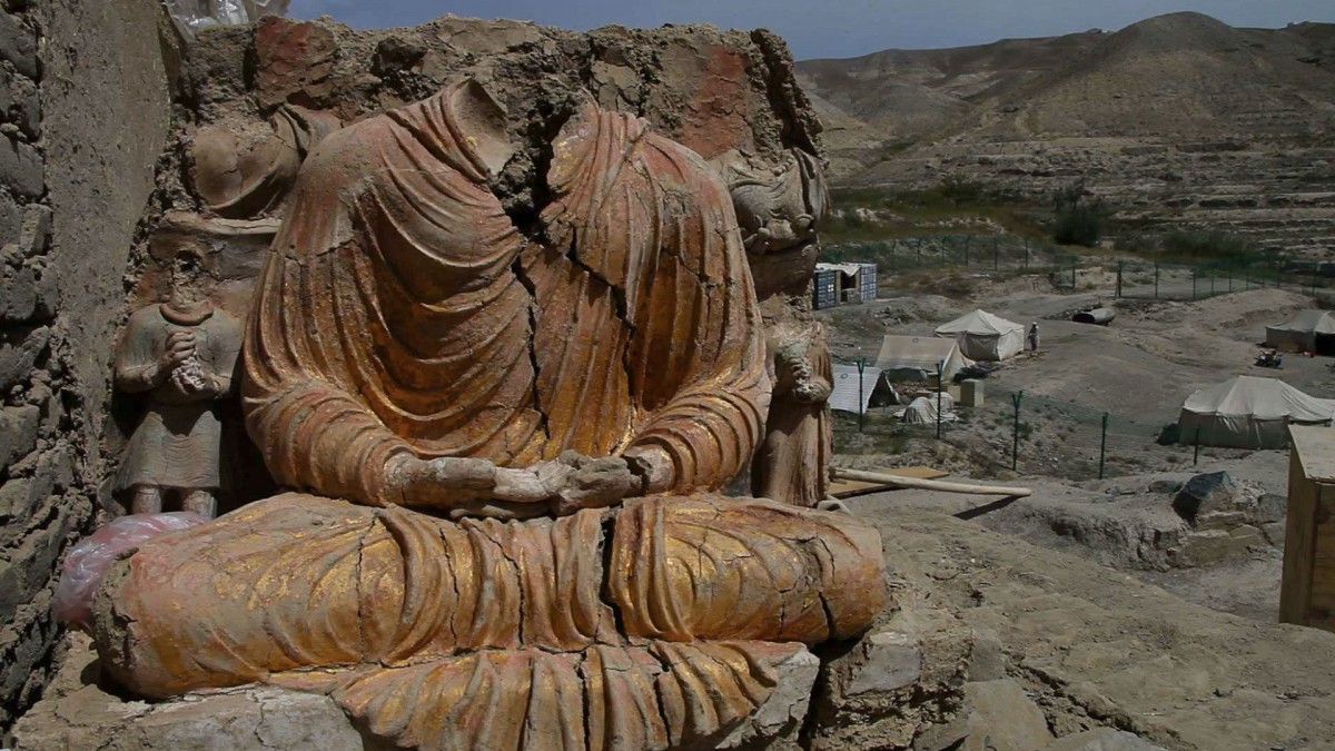 Although only 10% of the site has been excavated, the discoveries are already rewriting the history of Buddhism, Afghanistan, and us - who we are as human beings.
