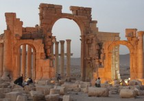 Syrian ancient cultural site threatened by IS troops