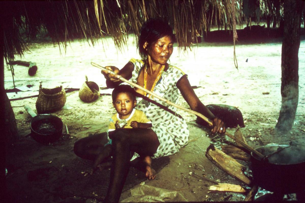 Anthropologist Karen Kramer has worked with the Pumé in Venezuela since 2005. [Credit: Karen Kramer]