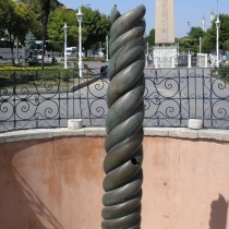 """The """"Serpent Column"""" will once again adorn Delphi"""