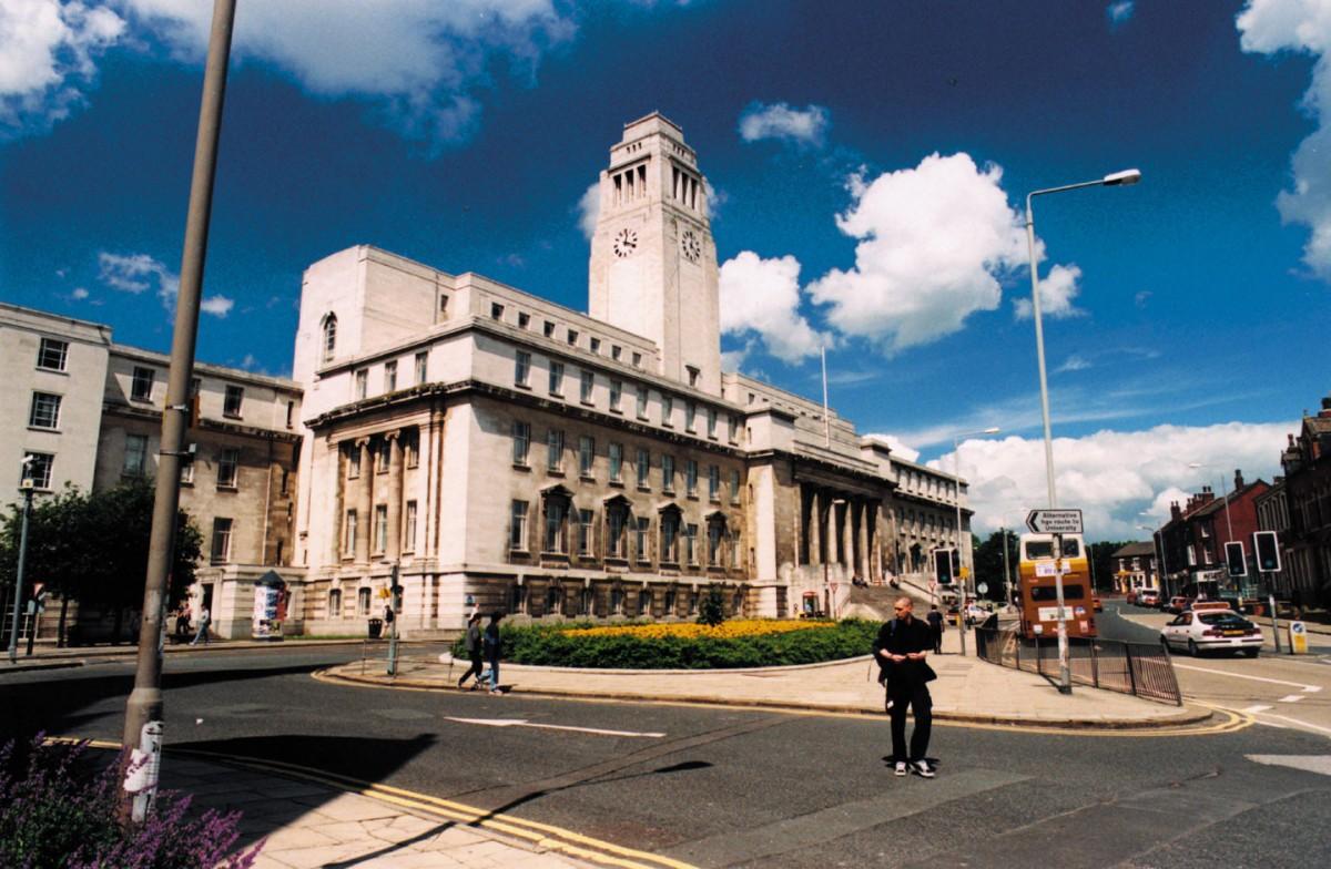 Parkinson Building at the University of Leeds.