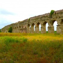 Travertine reveals ancient Roman aqueduct supply