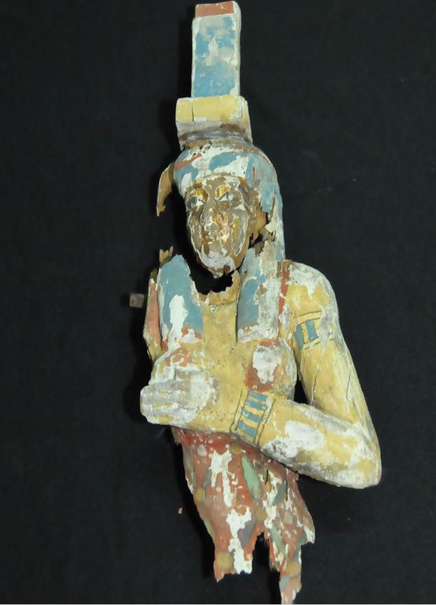 Find of the excavated tombs. Credit: Ministry of Antiquities.