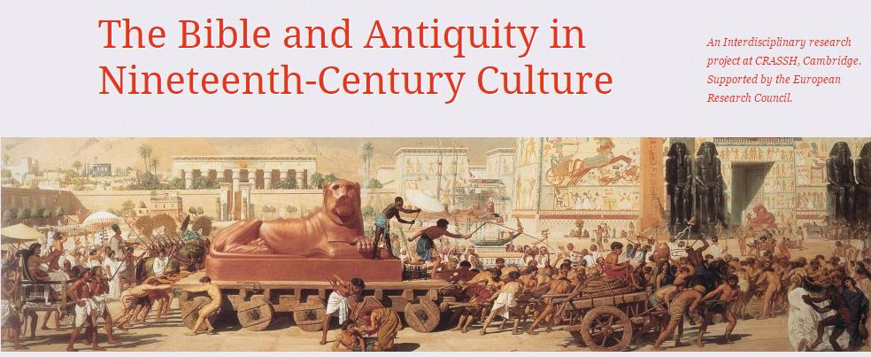 Interdisciplinary, collaborative project investigating the interface between the study of the bible and the study of antiquity in the nineteenth century.