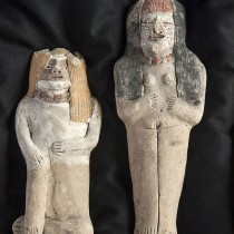 Caral civilization figurines unearthed in Peru