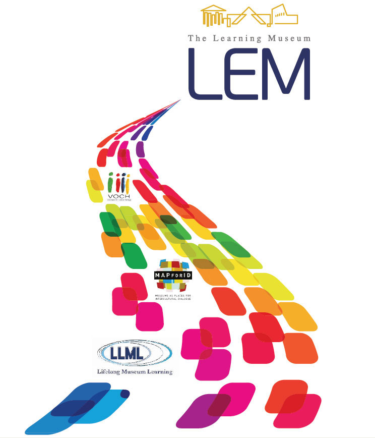 Fig. 1. The course of the LEM programme through time. Graphic representation of the programme as the starting point for many other projects on the topic of Lifelong Learning, funded by the European Union between 2003 to 2010.