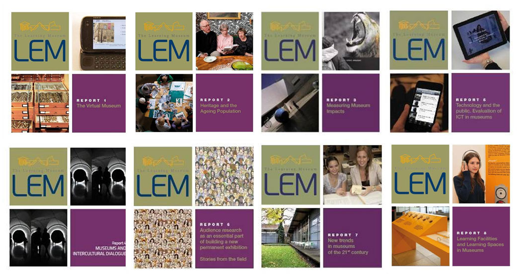 Fig. 9. The covers of eight LEM programme reports. All reports are available at http://www.lemproject.eu/WORKING-GROUPS/Partner-in-Evidence