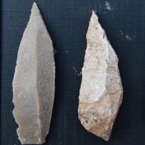 Stone tools from Jordan point to dawn of division of labor