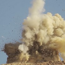 Isis blows up Palmyra shrines in Syria