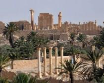 IS lay mines around Palmyra ruins