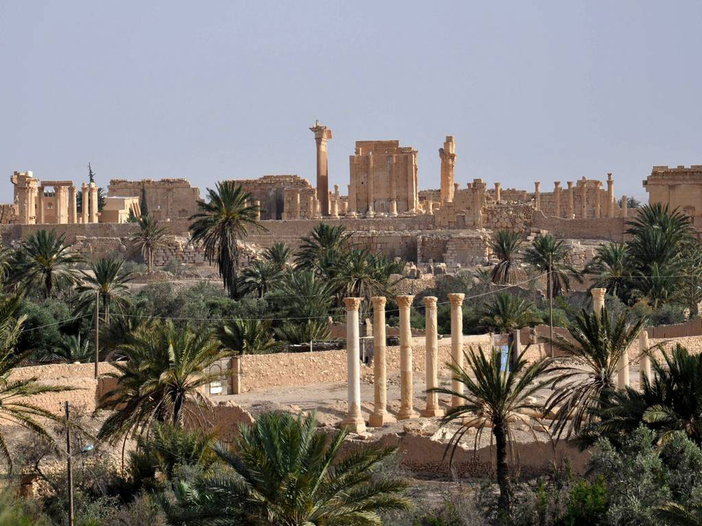 The ancient Syrian city of Palmyra, a World Heritage site. Photo Credit: AFP/Getty Images.