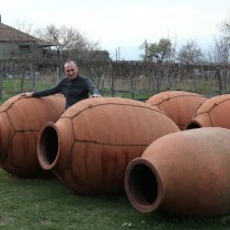 Ancient-style wine-making is rediscovered in Georgia