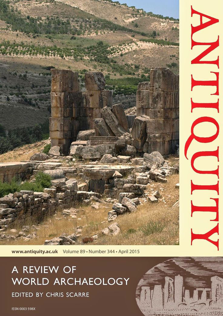 Antiquity is an international peer-reviewed journal of archaeological research, graded 'A' in the recent European Science Foundation Reference Index for Humanities.