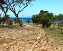 Ancient carriage way discovered in southern Athens