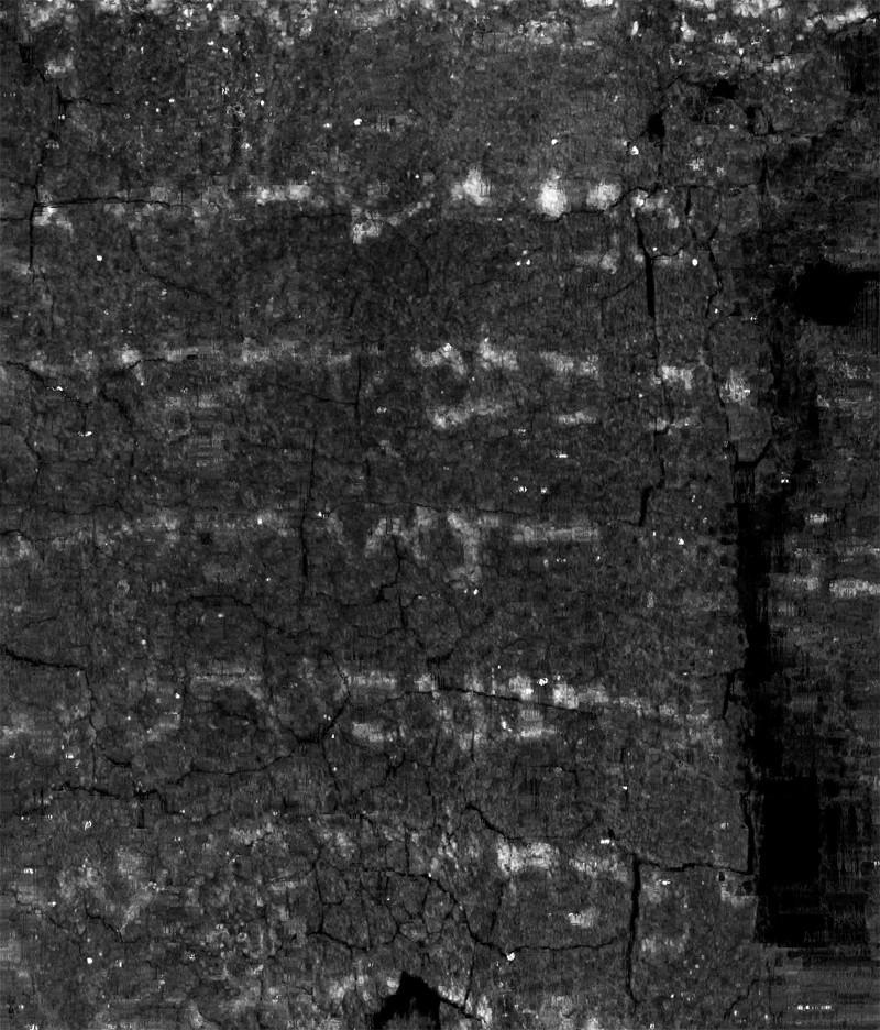Ein Gedi scroll. Image: University of Kentucky.