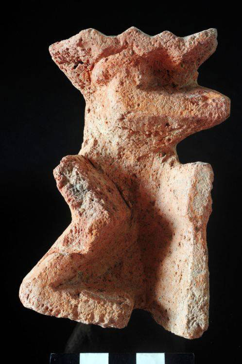 One of the artefacts discovered in Tel el-Farkha. Photo Credit: Ministry of Antiquities, Egypt.