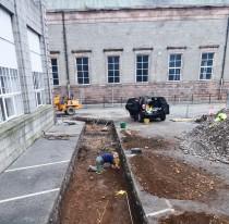 Medieval Blackfriar graveyard discovered in Aberdeen