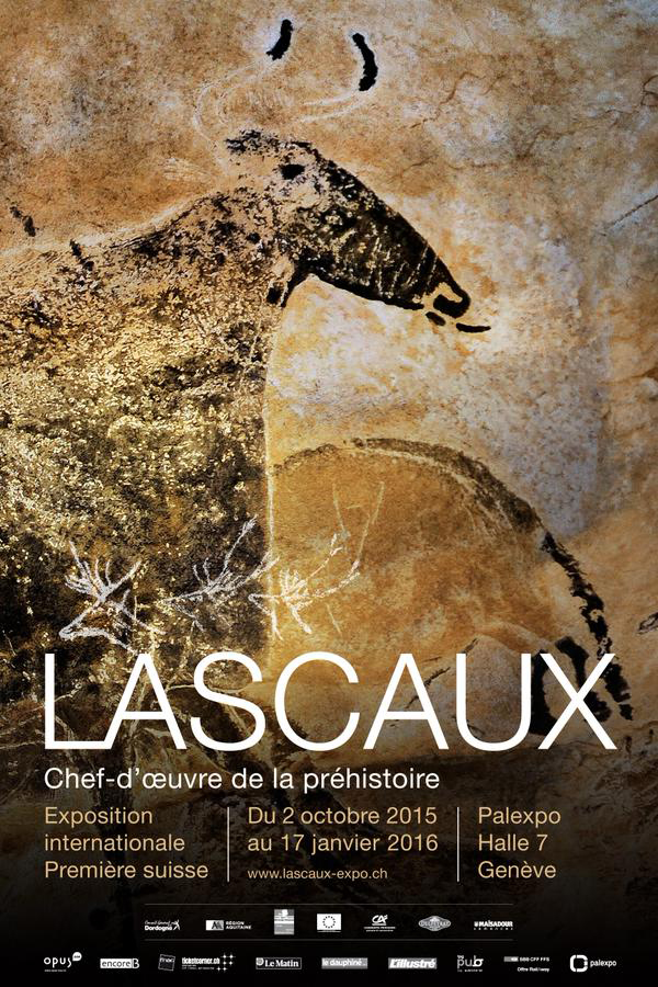 The Lascaux exhibition opens in Geneva on October 2.