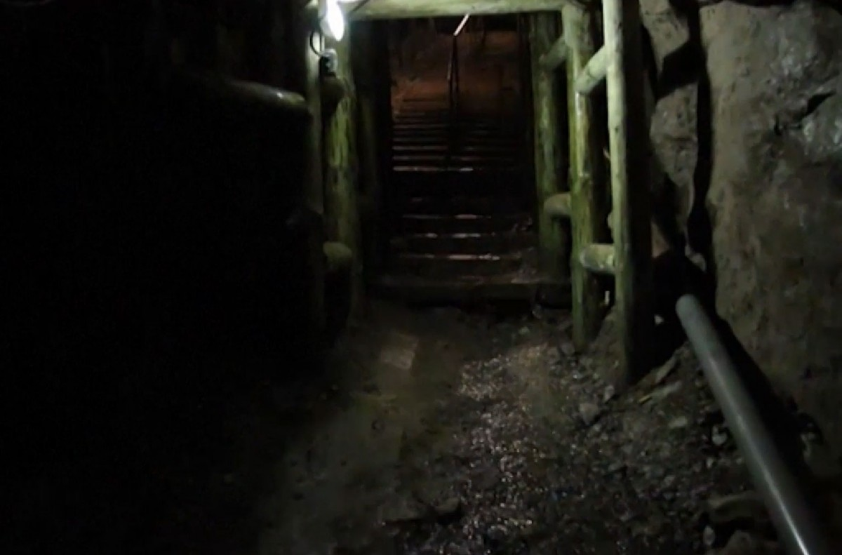 "The ""Riese"" tunnels were built by forced labourers under the Nazis and local legends say the gold was lost there after the war. Credit: Telegraph."