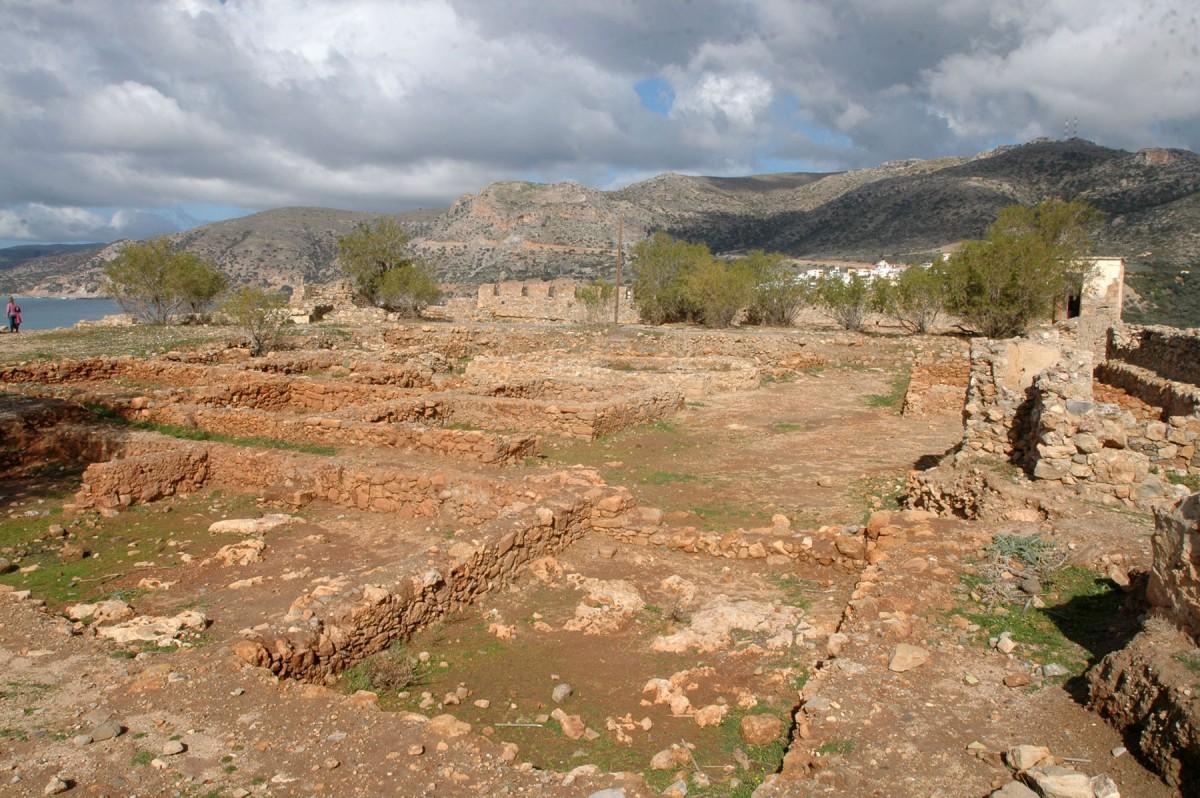 Fig.11. The Castel Selino in Palaiochora, Selino in Chania.