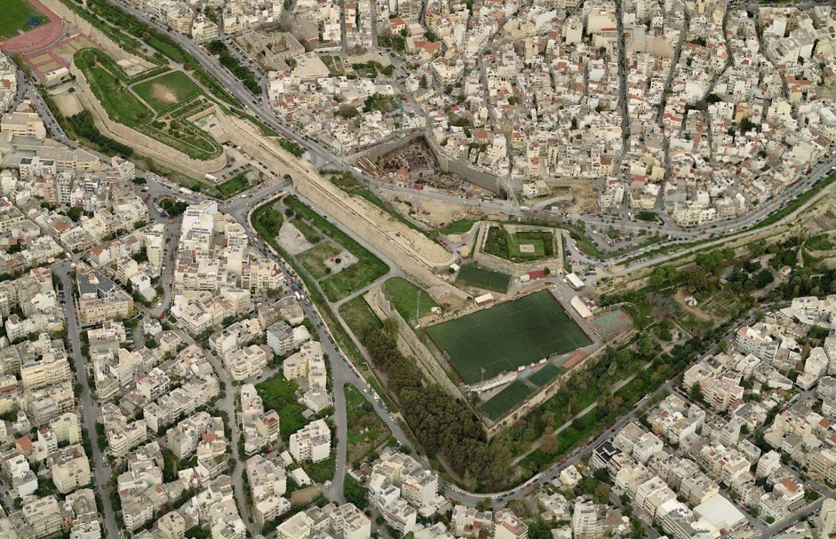 Fig.14. Heraklion, the Martinego and Bethlehem bastions.