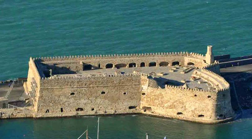 Fig.15. Herakleion, the Rocca al Mare fort (Koule).