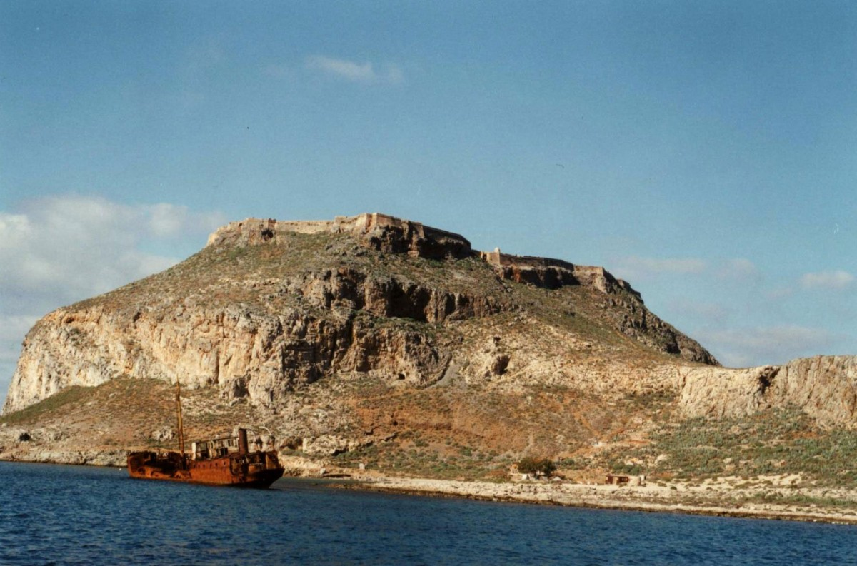 Fig. 22. The Gramvousa fort.