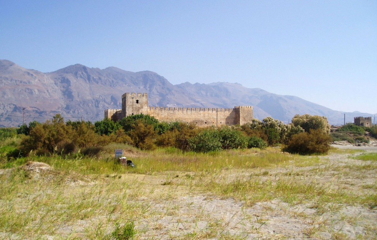 Fig.9. The Castello Franco in Sfakia, from the south.