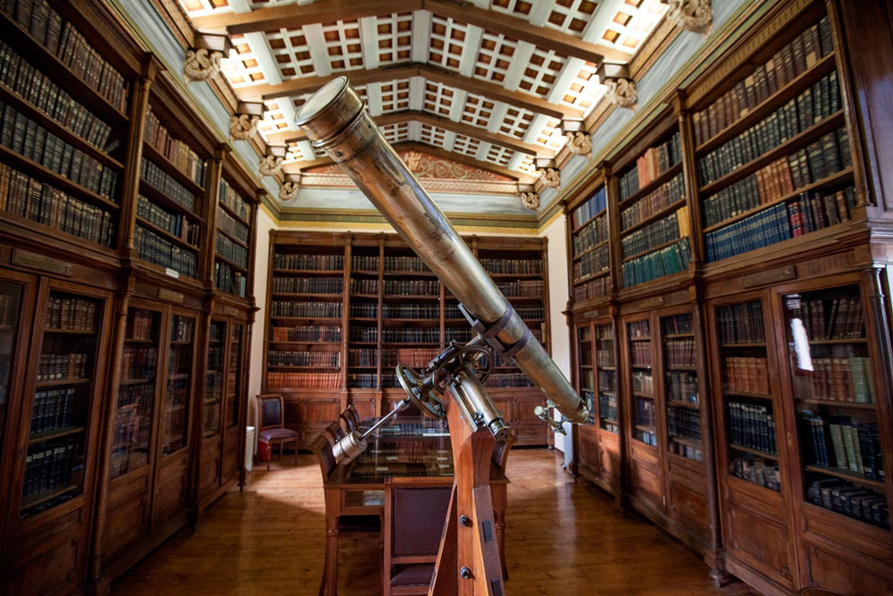 The library of the National Observatory of Athens.
