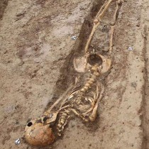 200 Napoleonic soldiers' tombs unearthed in Frankfurt