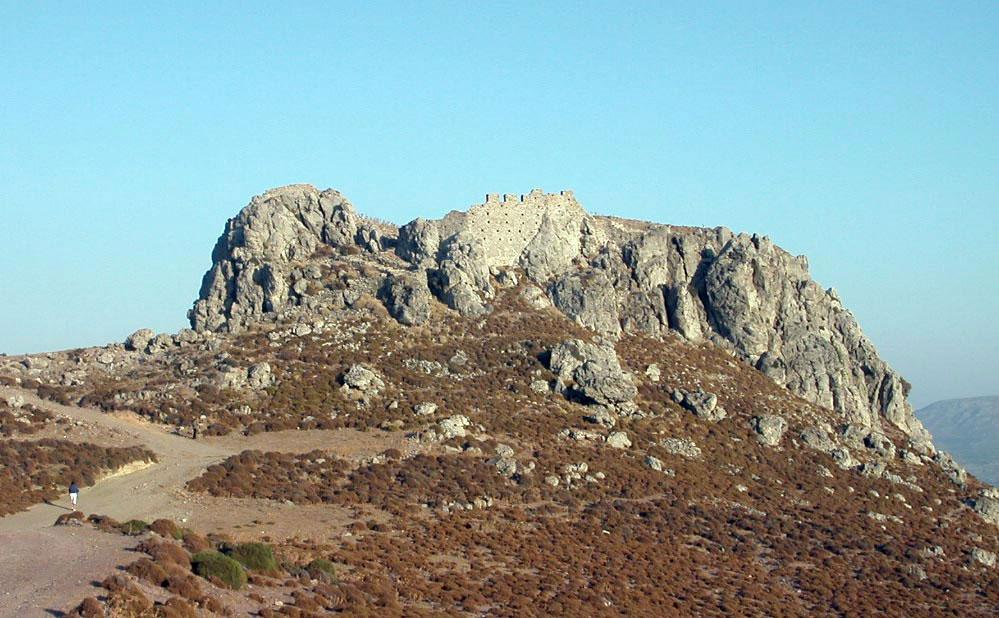 Fig. 16. The Mont Forte fort in Sitia. (photo: Nikos Gigourtakis)