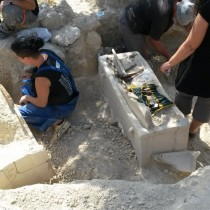 Minoan tomb with clay sarcophagi found in northern Crete