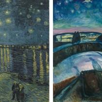 Munch and Van Gogh meet in Amsterdam